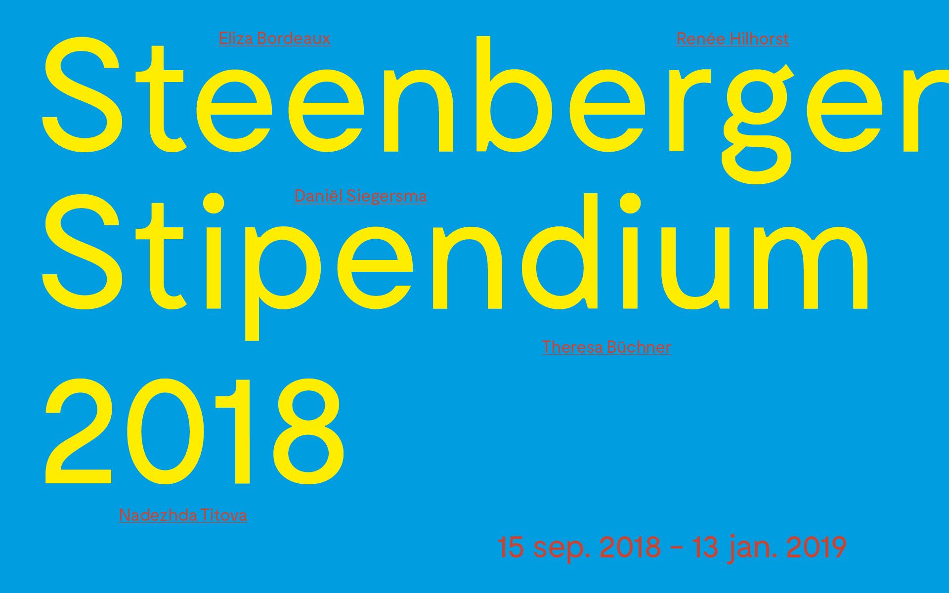 steenbergen-stipendium-2018