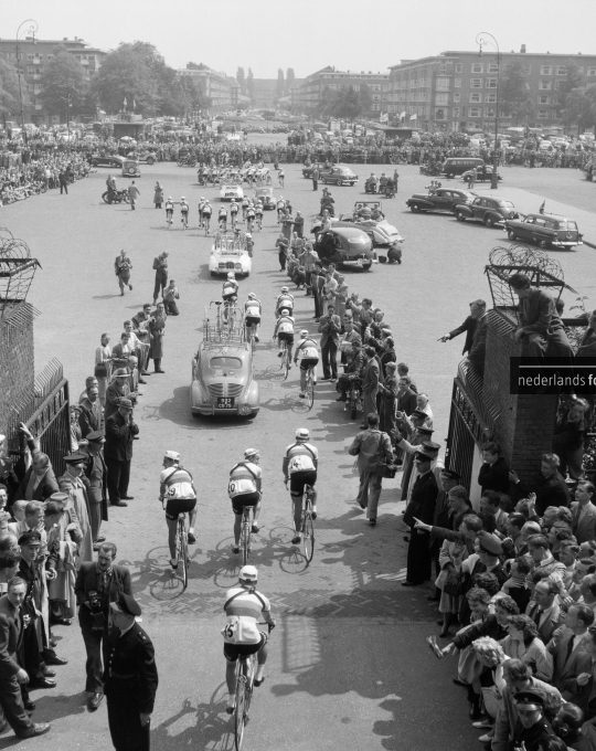 Start Tour de France, Bert Buurman