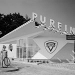 Tankstation Purfina, Hans Spies