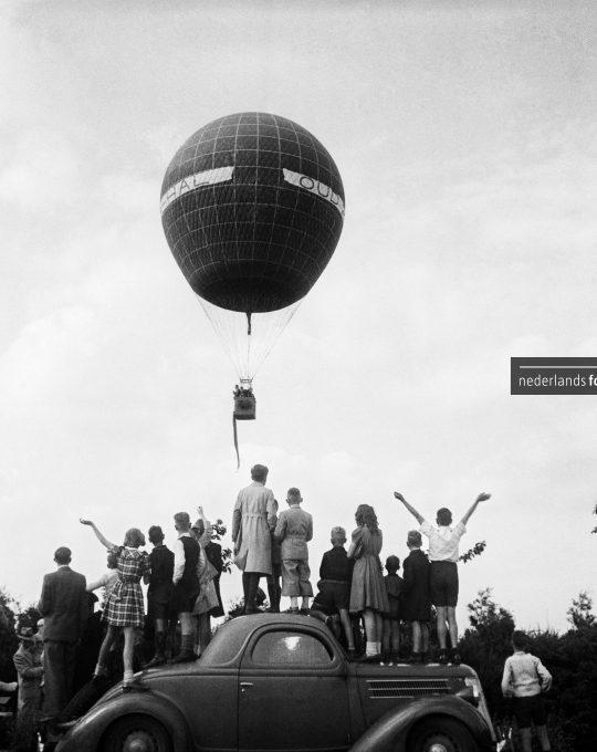 Oplaten van luchtballon, Kees Molkenboer