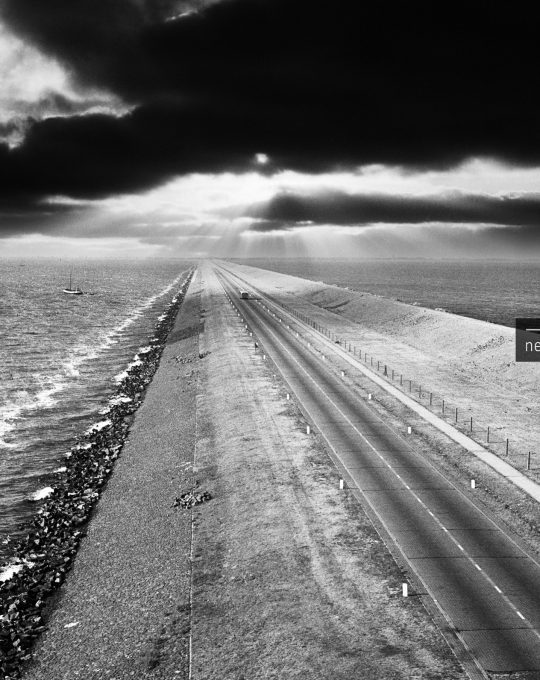 Afsluitdijk, Cas Oorthuys