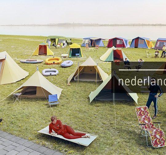 Reclame voor kampeerartikelen, Frits J. Rotgans