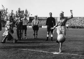 Voetbalfotografie toen en nu met Hugo Borst