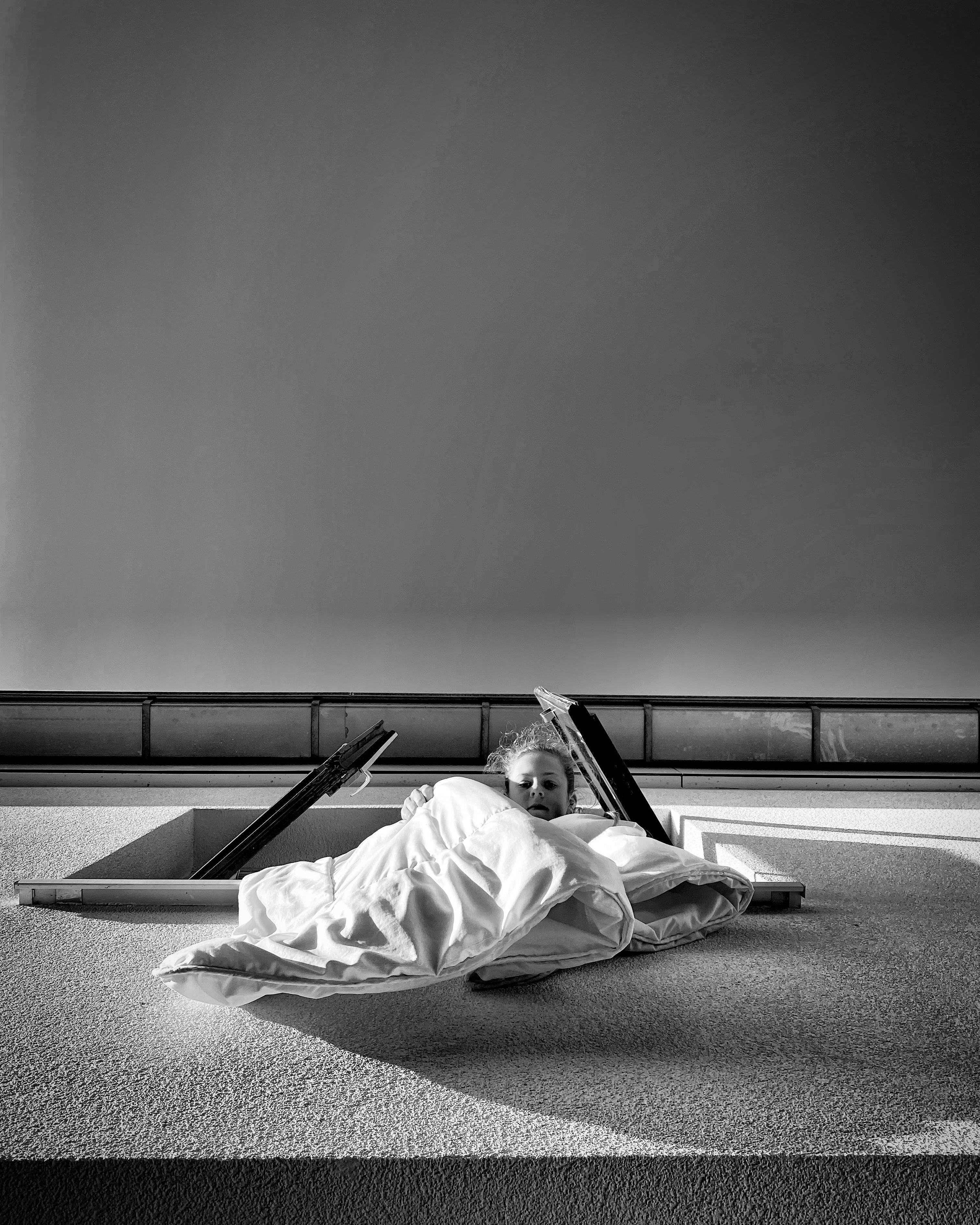 Even luchten © Lynda Molenaar