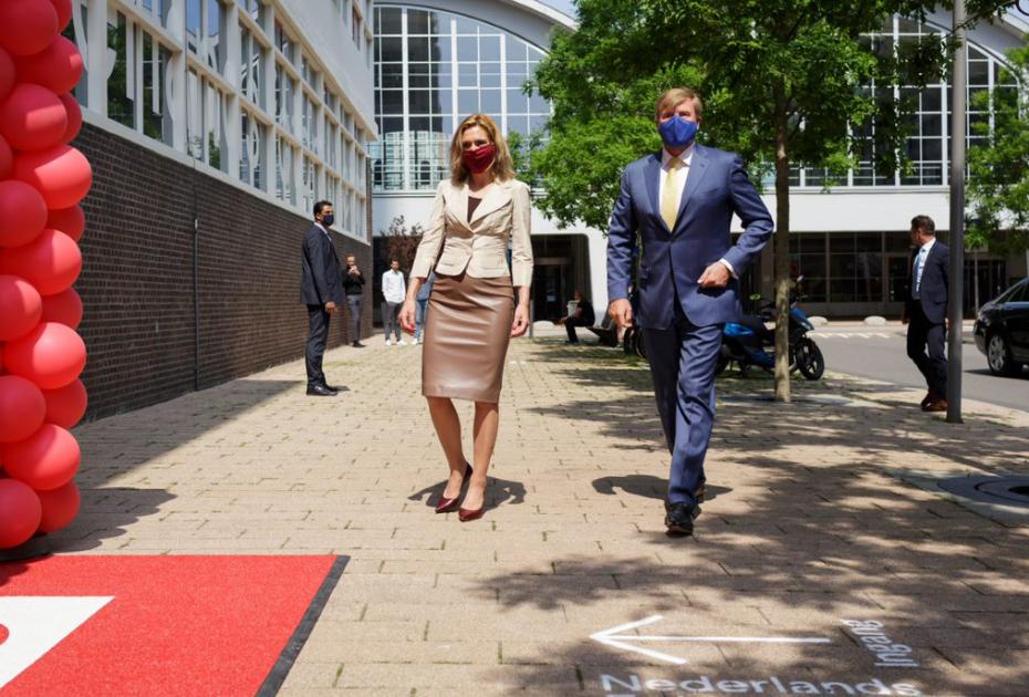 Koning Willem-Alexander bezoekt het Nederlands Fotomuseum